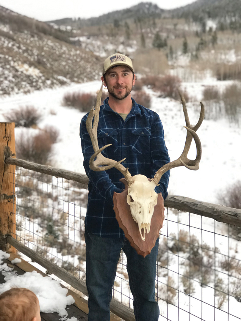 Matt Church shot this mature buck on a solo hunt in Wyoming.