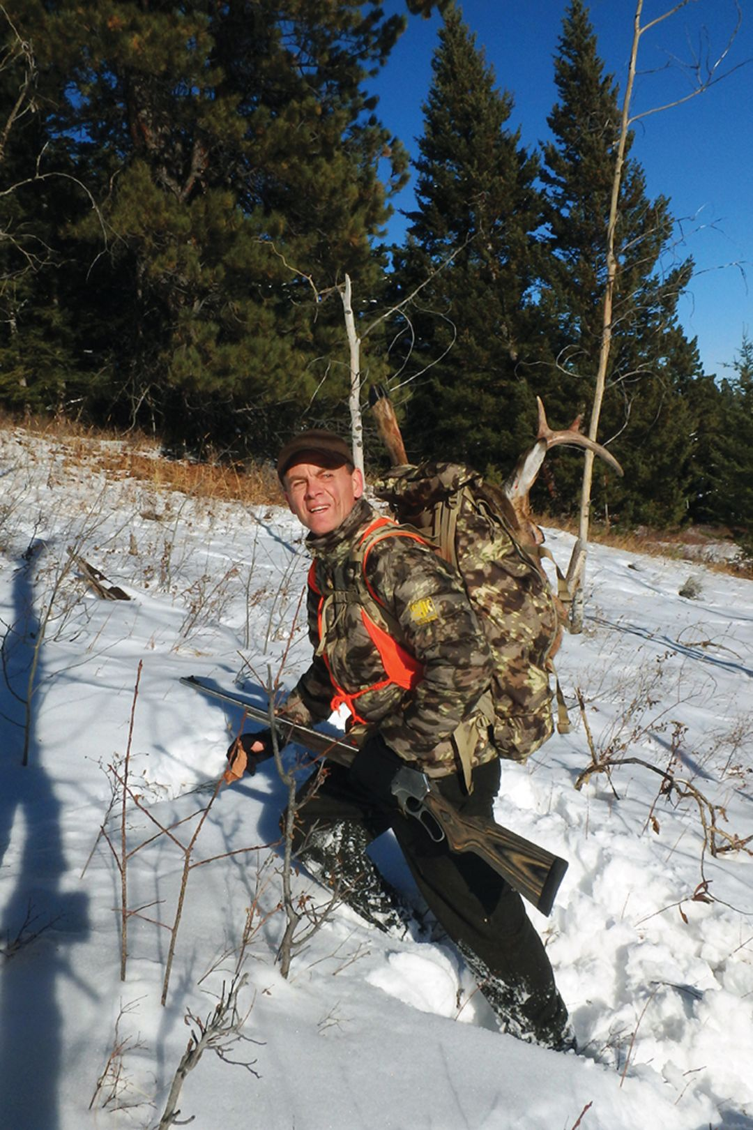 This fine buck was shot in an area that receives lots of recreational use by nonhunters.