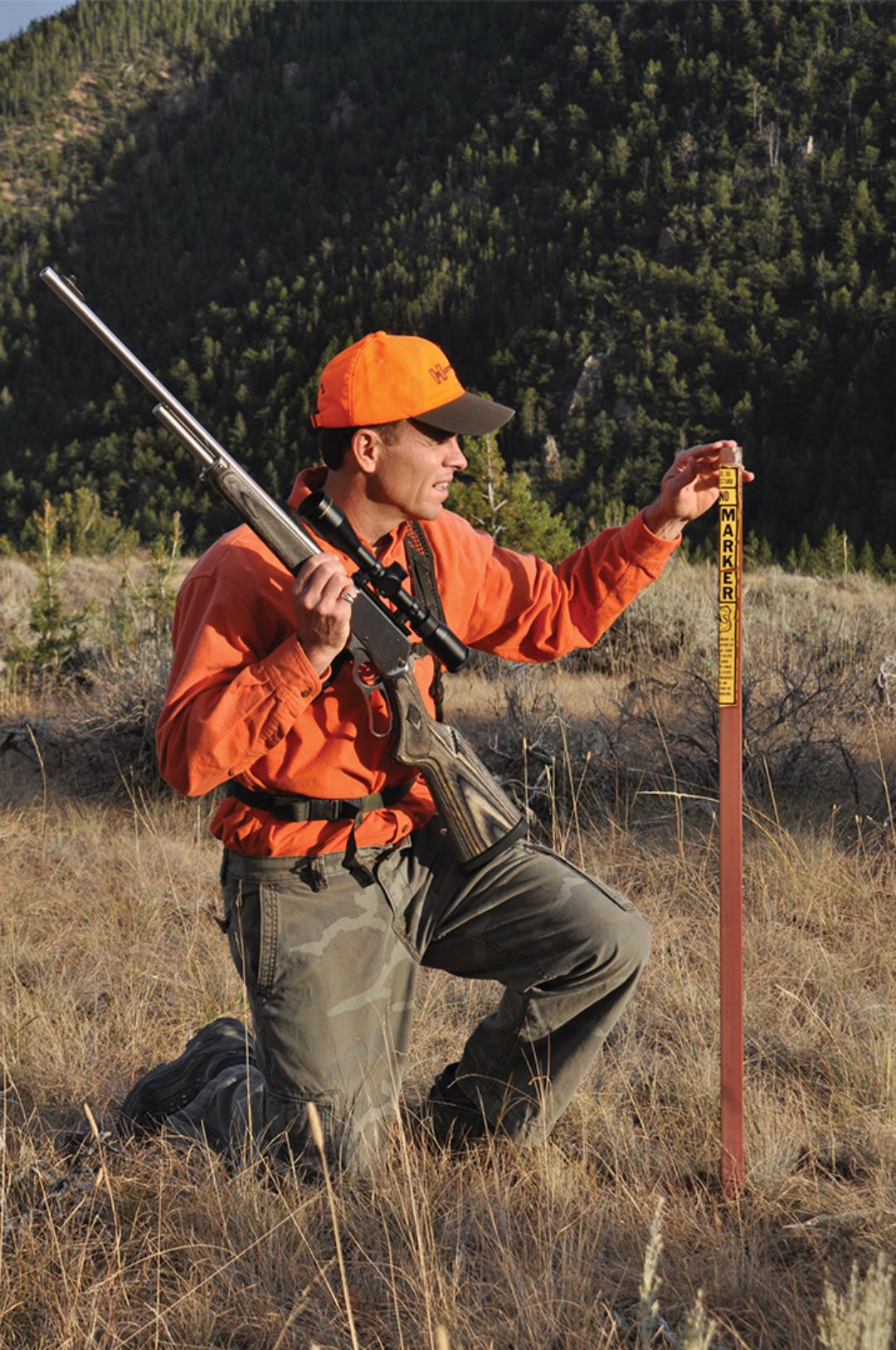 Keeping tabs on land boundaries is critical to hunting small parcels of public land. In addition to markers, GPS software that shows land ownership can keep a hunter on track.