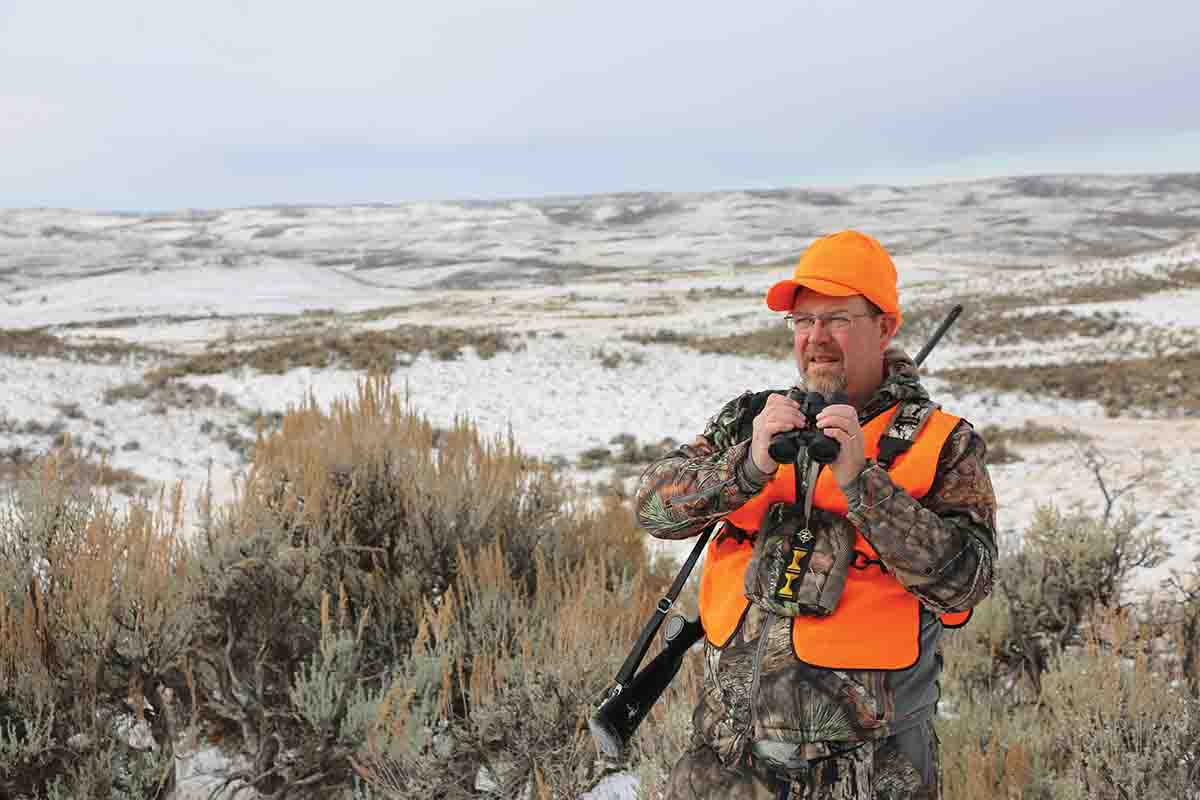 The hunters spent days glassing hills and draws in order to find the perfect muley buck.