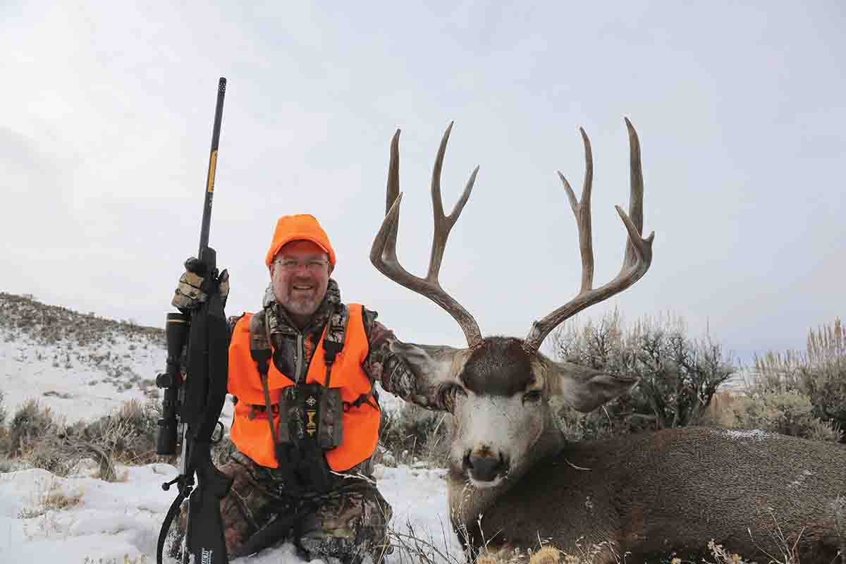 Brad's Colorado deer turned out to the best muley he had taken in more than a decade.