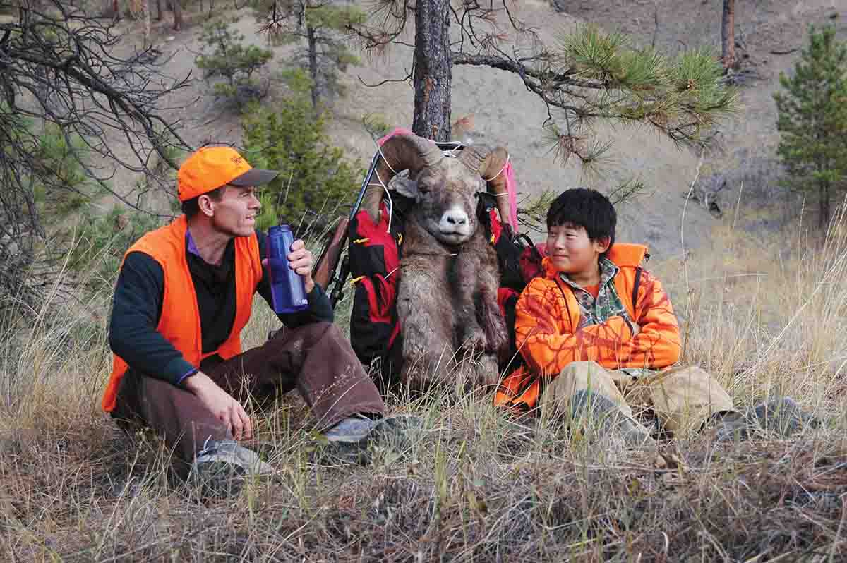 A bighorn sheep tag in Montana's Missouri Breaks is something to smile about.