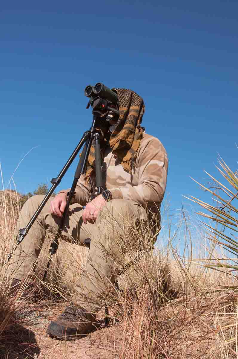 The most important tool a Coues' hunter has is a high quality binocular.