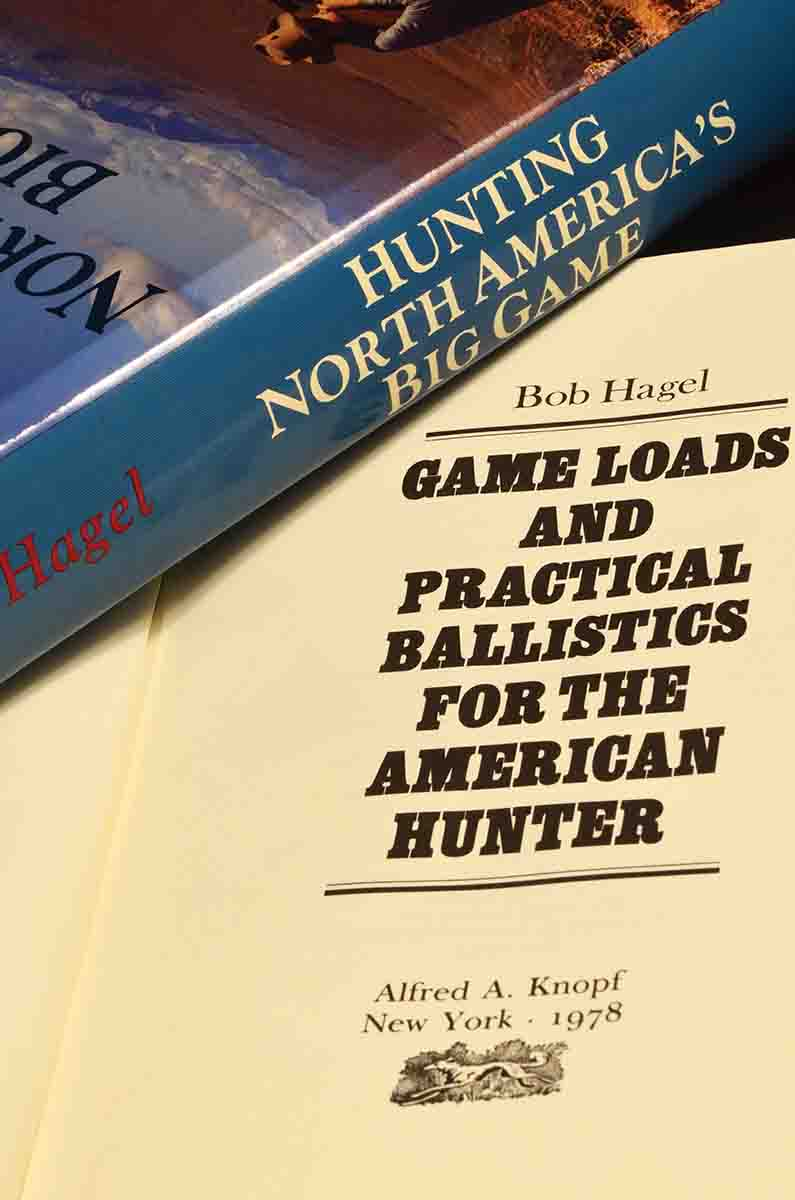 In his books (and magazine features), Bob Hagel covered all aspects of game animals and how to hunt them with the right rifles and cartridges. He believed strongly in ethical hunting practises, and it shows through in all his writing.