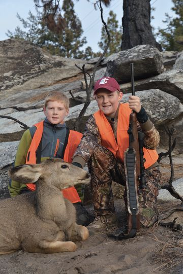 Adam Brooks shot this mule deer after taking a few years off from hunting due to being pushed too hard by his father, who was hoping the young man would take to hunting like he did as a kid.
