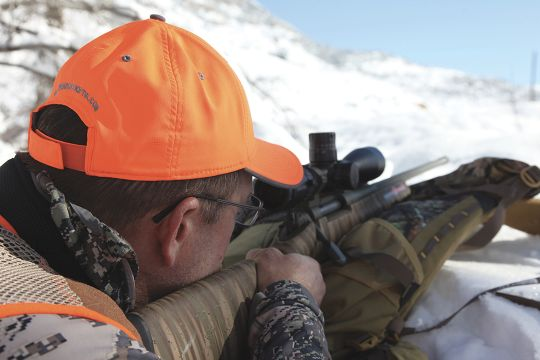 The Swarovski riflescope was designed for long-range shooters, but it also works well when zeroed for closer distance.
