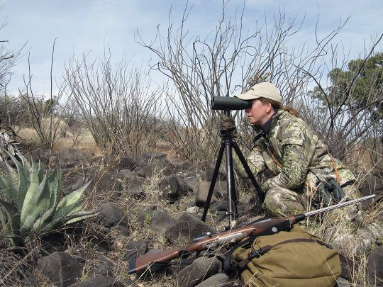 Using high powered optics – often for hours and days on end – is the key to finding a better-than-average buck.