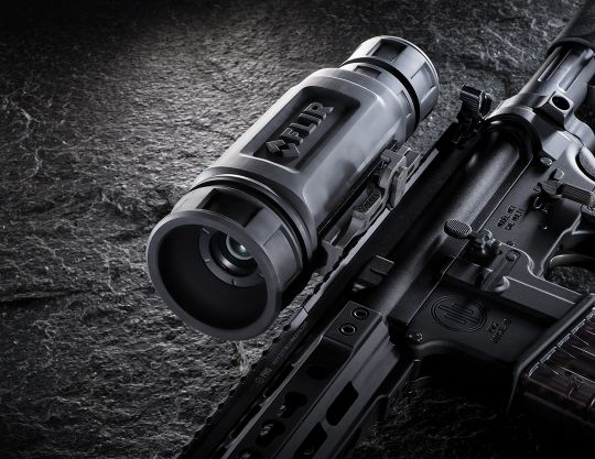 One of the thermal imaging optics Patrick tested thoroughly was from FLIR's ThermoSight R-Series lineup. These scopes provide good resolution and targeting abilities at a comparatively modest price – no thermal imaging optic is inexpensive.