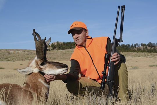 This is the largest pronghorn buck Jack has ever taken on public land.