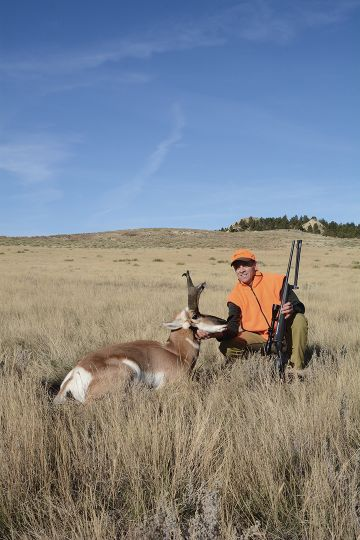 Jack's buck is a dandy, and its heavy, tall horns may have benefitted from reduced population numbers along with resultant improvement in forage.