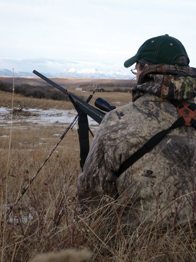Cold and snowy conditions can challenge hunters in many ways, but a good attitude regularly results in game in the bag.