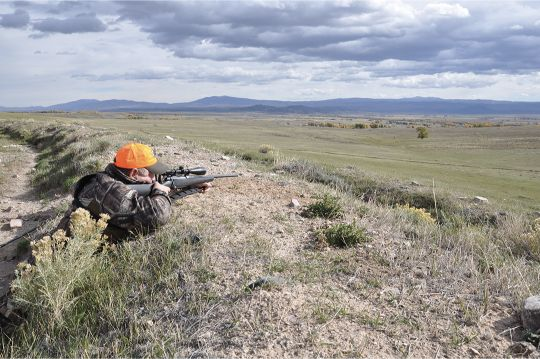 "Open country is especially challenging for most hunters when eyeballing range. A flat-shooting rifle zeroed at 200 yards makes it possible to hold ""on the animal"" at virtually all practical ranges."