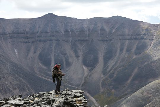 The weathered Mackenzie Mountains have long been known for good sheep hunting.