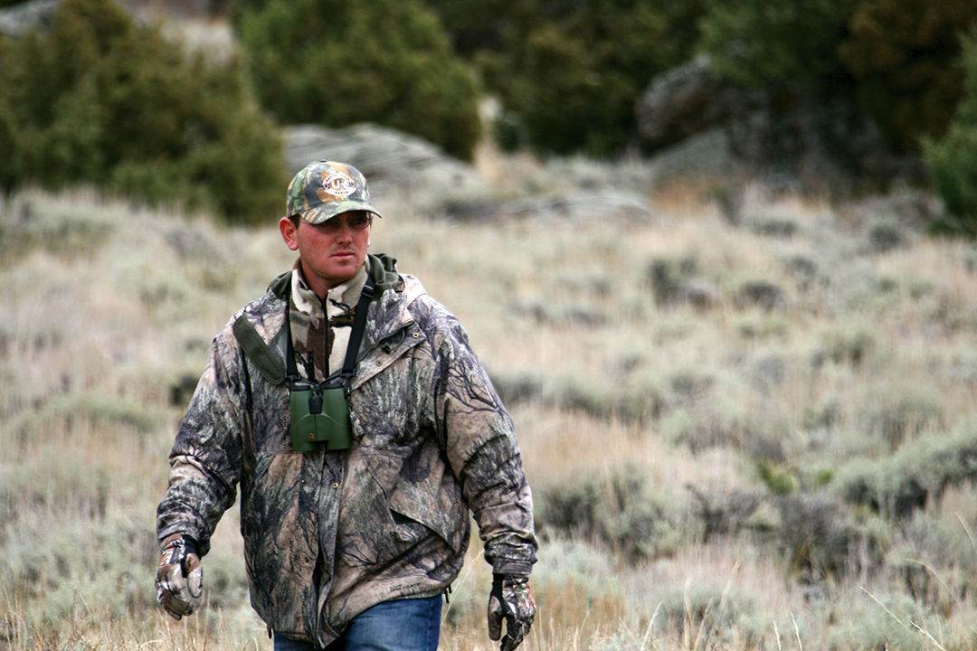 Jake Keller is a cowboy who also has a passion for big mule deer, and he knows how to find them.