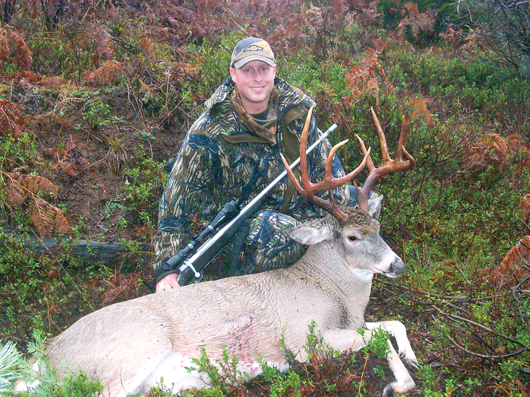 Brian Chlipala hunts Northwest Whitetails by rattling them in during the rut.
