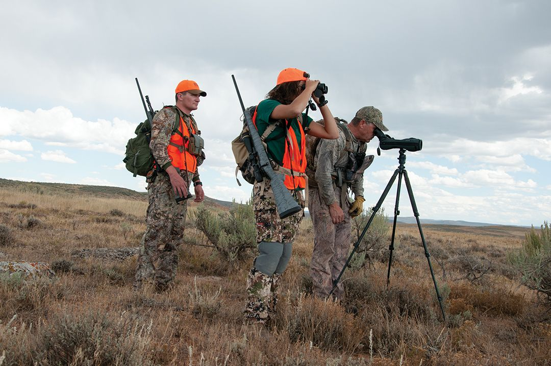 High-quality optics are the most important tools a pronghorn hunter can have, followed closely by good boots and gloves.