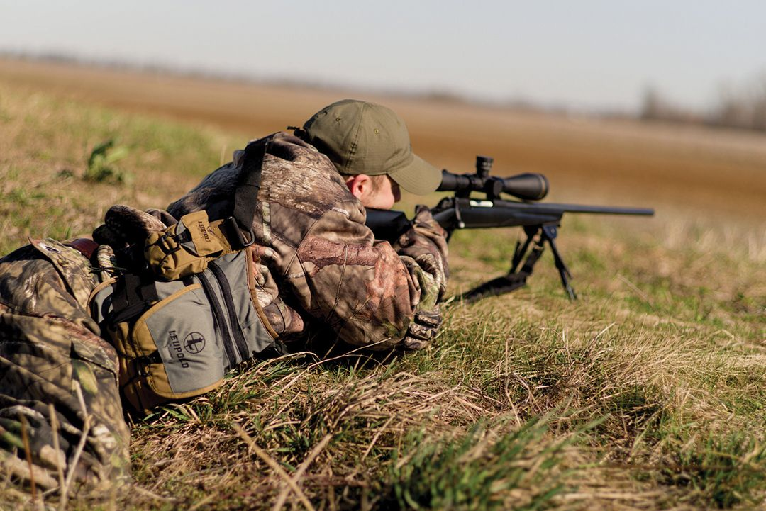 Hunters who practice from the prone position using a stable rest, such as a bipod, can achieve nearly benchrest accuracy from their rifles.