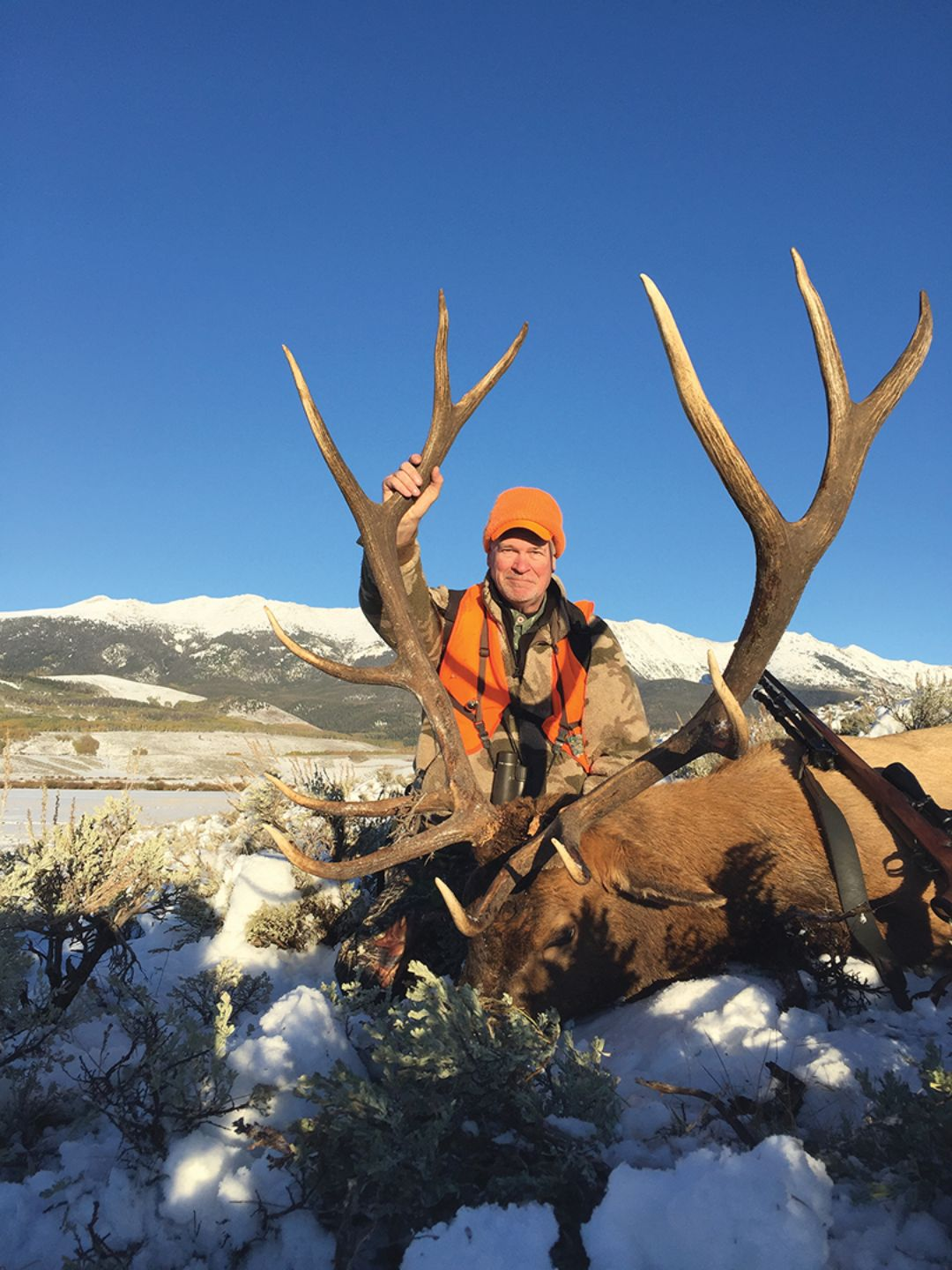 John's hunt took place in North Park, a beautiful region of Colorado.