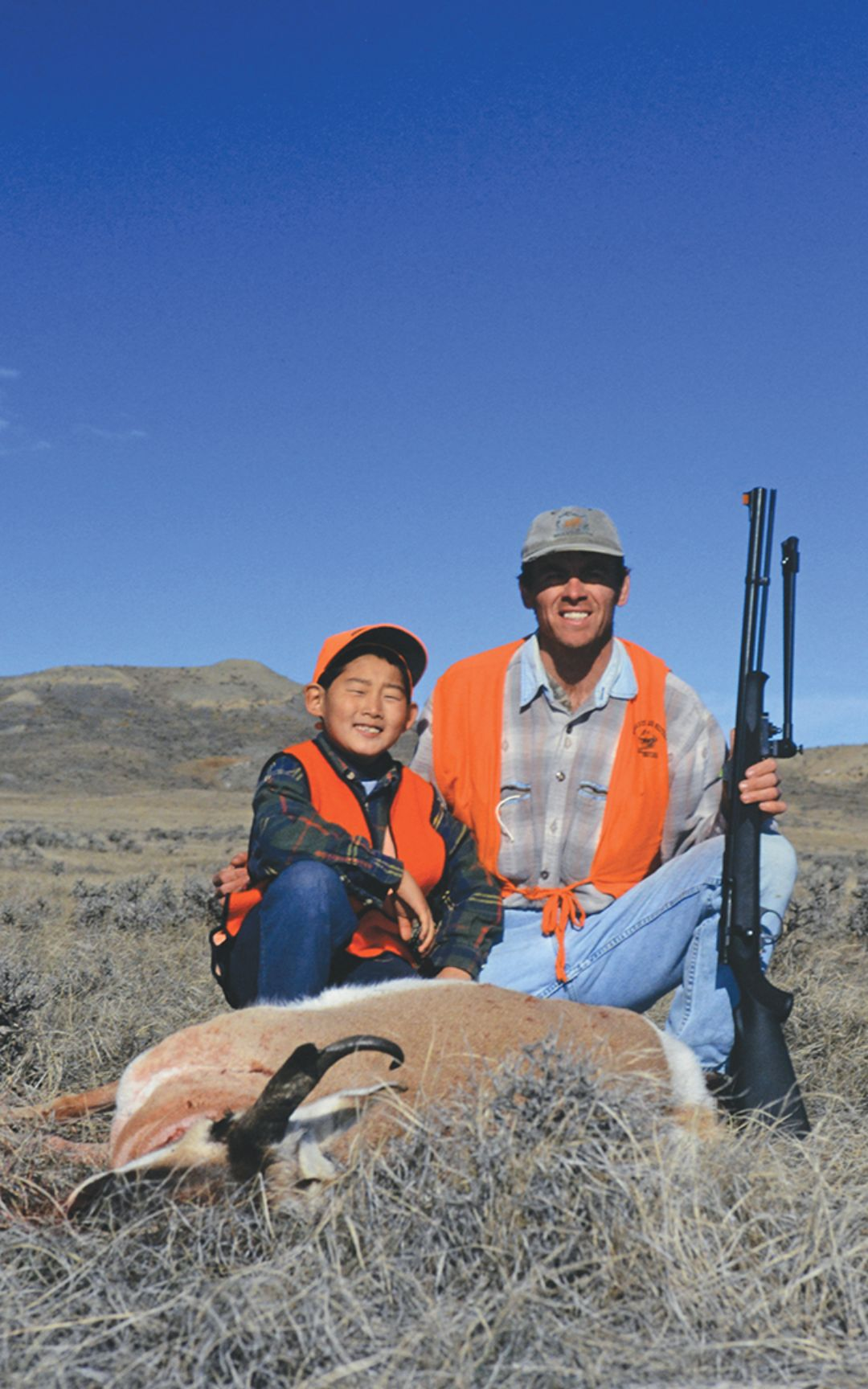 "Foul weather scuttled the first attempt at a pronghorn with a muzzleloader, necessitating a ""Plan B,"" which should factor into a scheme for a triple."