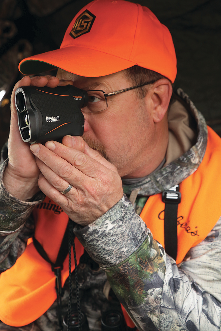 A good rangefinder proved essential in the open hill country, where the rolling terrain can make it difficult to judge distances properly.