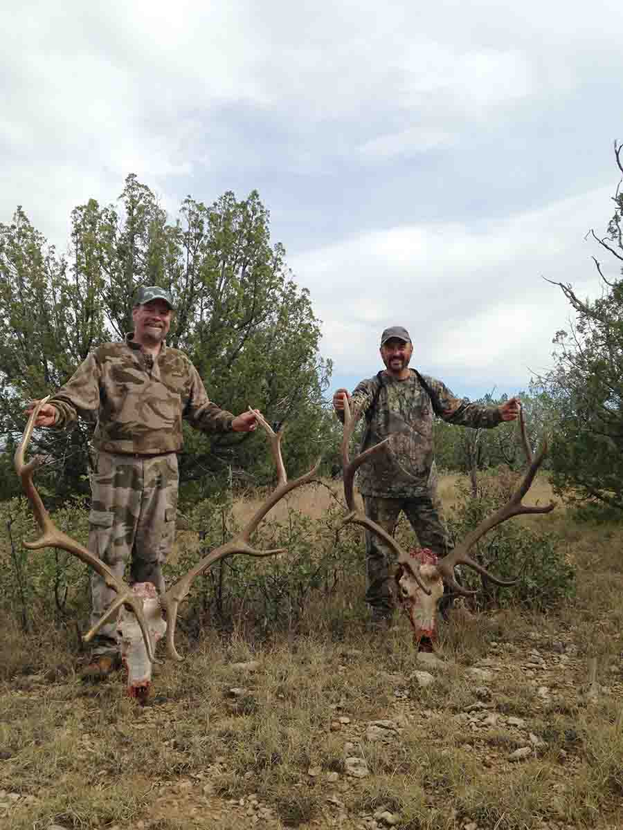 Persistence pays: Both of these New Mexico bulls were shot on public land after days of working hard just to find elk.