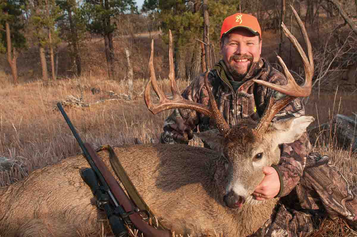 Most hunters unfortunately ignore Wyoming when it comes to whitetail, but this buck, shot early in the rut, is an outstanding example of what the state can produce.